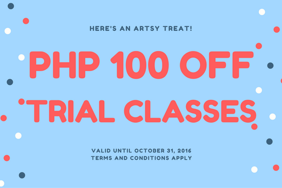 Art Smart Manila Discounted Trial Art Class
