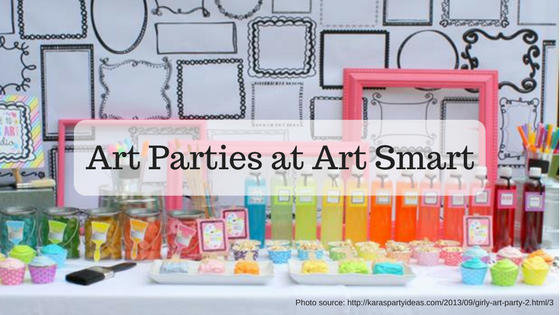 Art Parties at Art Smart