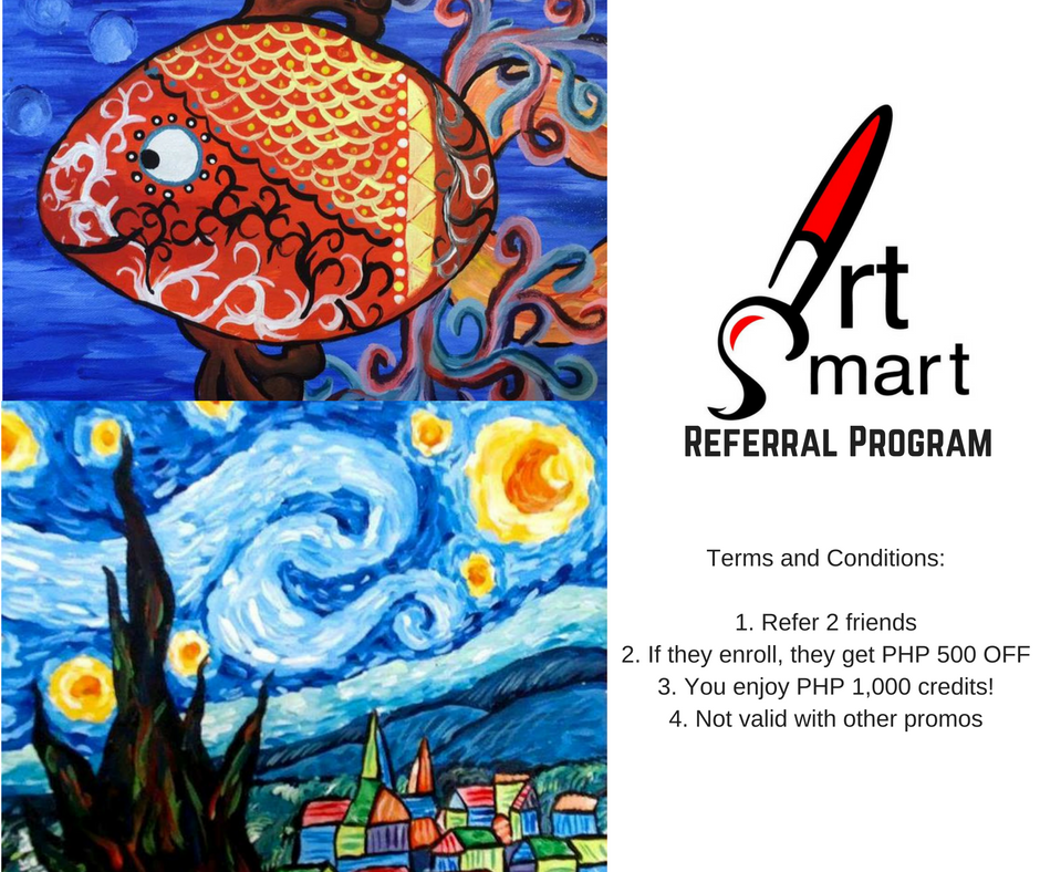 Art Smart Manila Referral Program